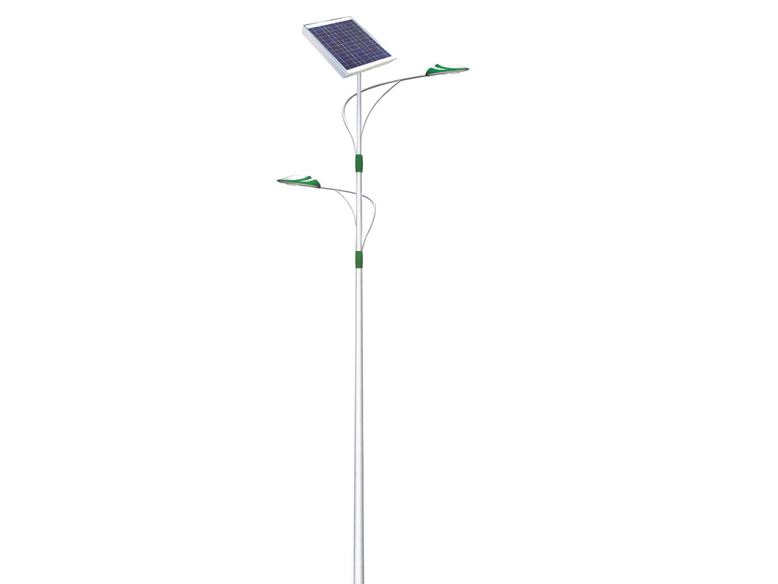 太阳能LED路灯_市政太阳能路灯_太阳能双头路灯