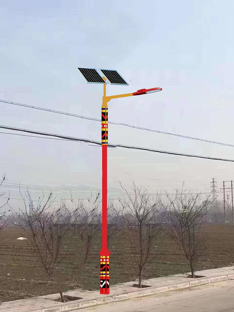 太阳能路灯_太阳能民族特色路灯_南德太阳能锂电池路灯