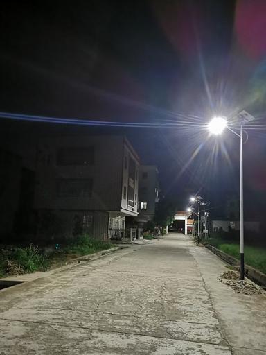 点亮村民回家路——43盏南德农村太阳能路灯已及时!