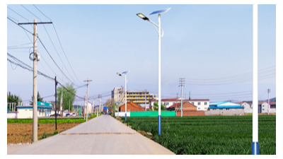 农村太阳能路灯在选购前应依据具体情况掌握要求