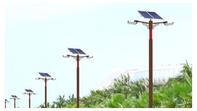新农村太阳能路灯基本原理主要参数与优点