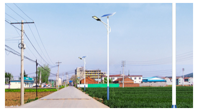 农村led太阳能路灯的规模性应用推广