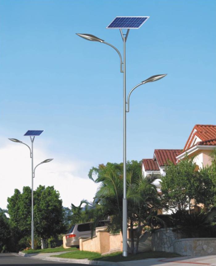 太阳能路灯 双头太阳能路灯 南德太阳能灯饰有限公司