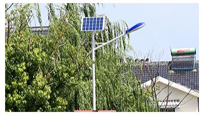 农村6米太阳能路灯品质不过关的缘故