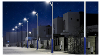 乡村太阳能路灯安裝自然环境的考虑到
