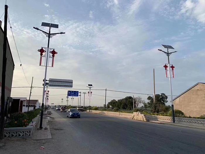 太阳能路灯 太阳能双头路灯 南德太阳能灯饰有限公司